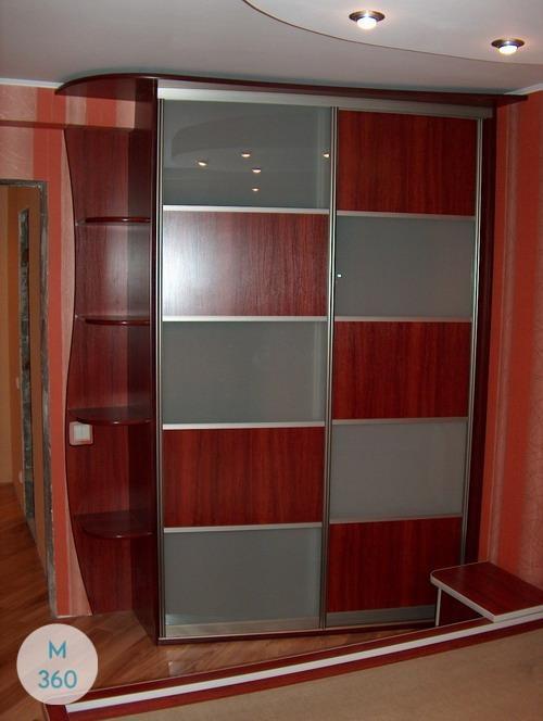 Красный шкаф Сэмюэл Арт 006881511