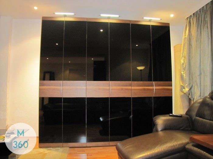 Черный распашной шкаф Хаген Арт 006976559