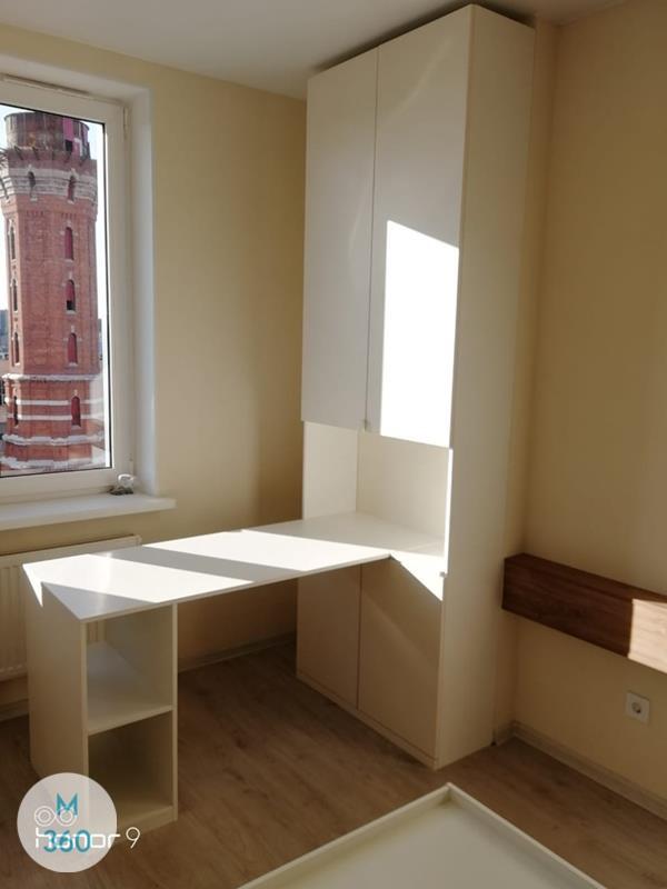 Узкий встроенный шкаф Тхимпху Арт 007214339