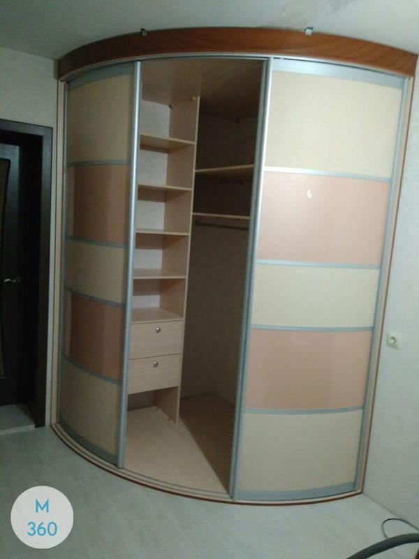 Угловой радиусный шкаф Мэдисон Арт 007277378