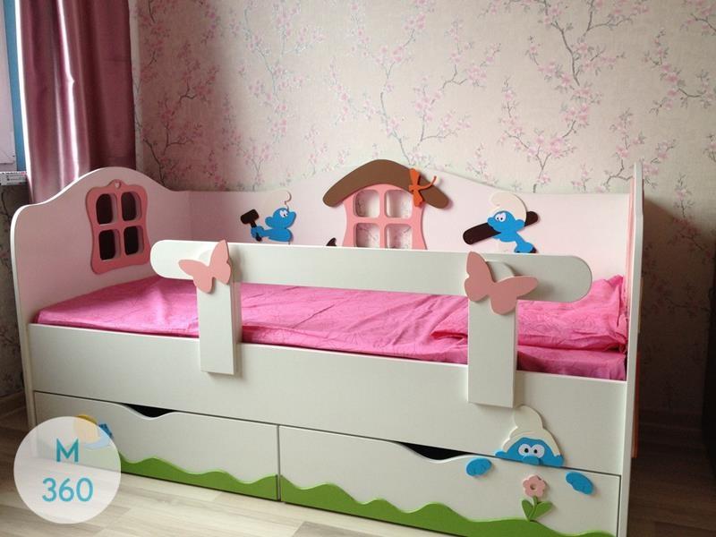 Двуспальный шкаф кровать Фумагалли Арт 007319291