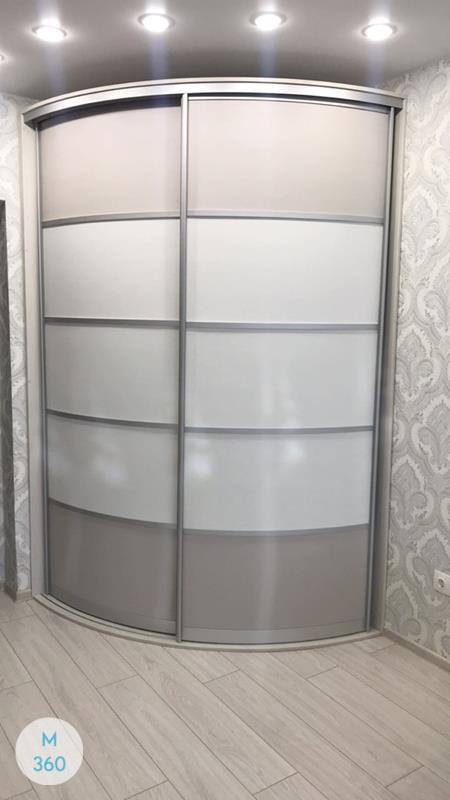 Угловой радиусный шкаф Андреа Арт 007594078