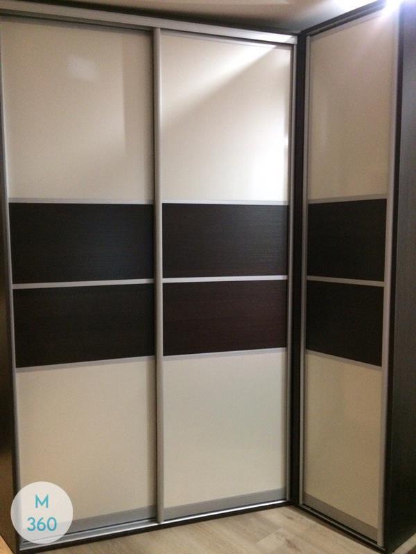Радиусный вогнутый шкаф Сент-Джорджес Арт 007648317