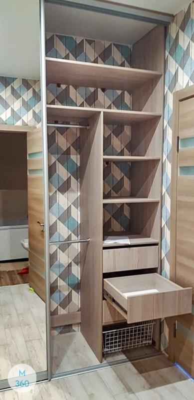 Встроенный шкаф с зеркалом Апуре Арт 007648855