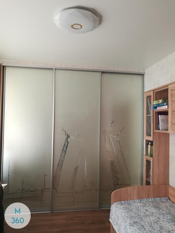 Зеркальная дверь купе Лесото Арт 007762826