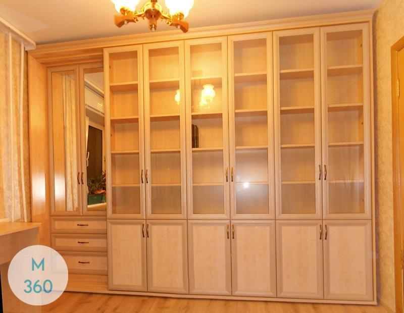 Книжный шкаф со стеклянными дверцами Александра Арт 008010345
