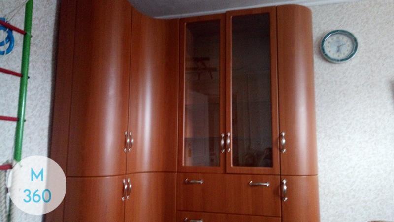 Вогнутый шкаф купе Матрикария Арт 008219746