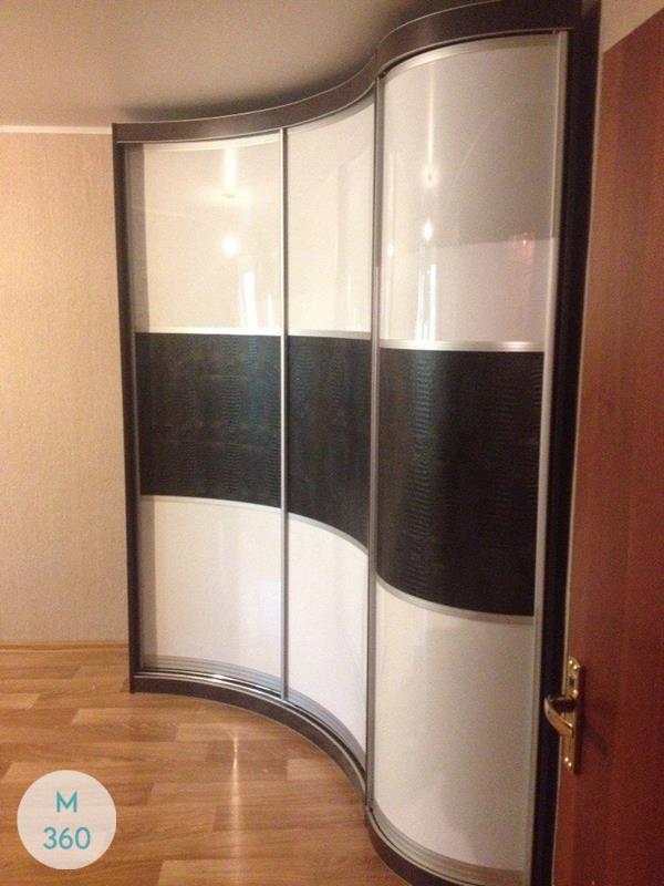Вогнутый шкаф купе Донато Арт 008245600