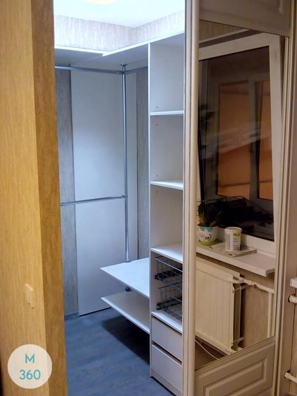 Прямая гардеробная Молдавия Арт 008270204