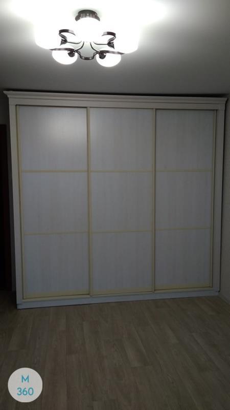 Серый шкаф купе Адам Арт 008318006