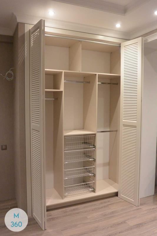 Шкаф с жалюзийными дверцами Квебек Арт 008334371