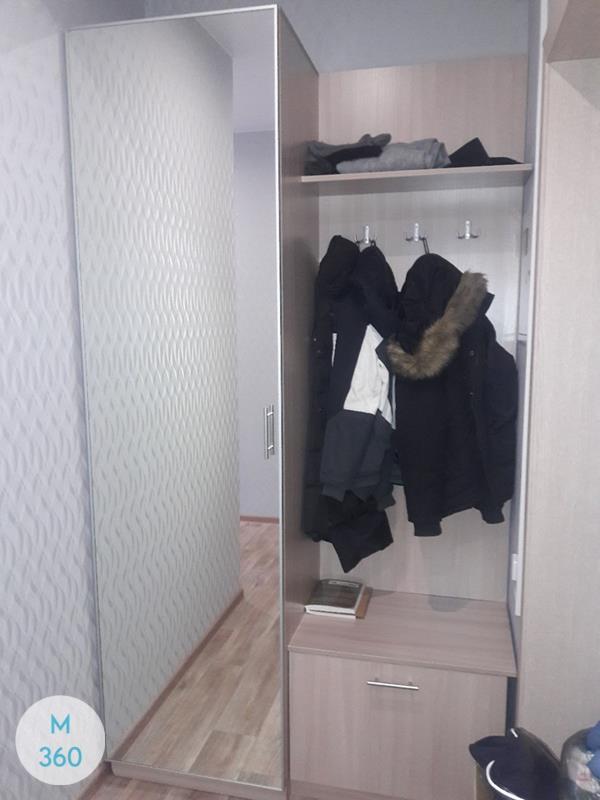 Узкий гардеробный шкаф Елена Арт 008574739