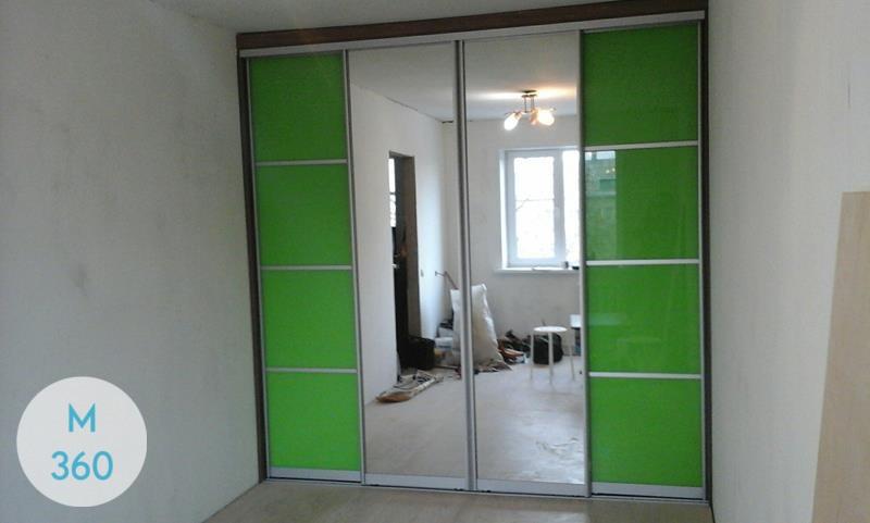 Зеленый шкаф купе Машенька Арт 008579622