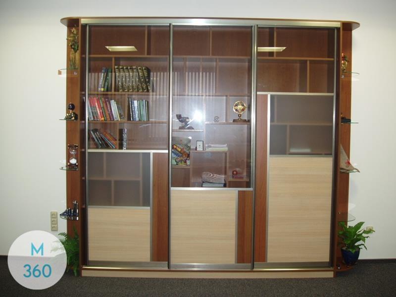 Шкаф купе для книг Портсмут Арт 008964406