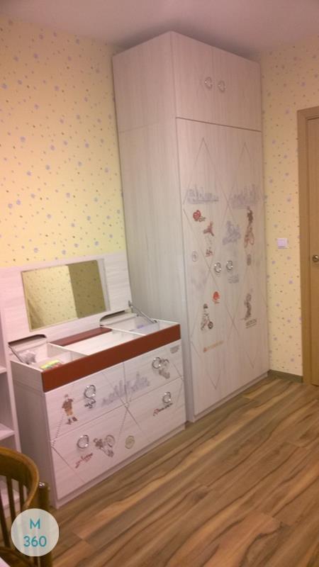 Гардеробный шкаф для детской Киргизия Арт 009001631