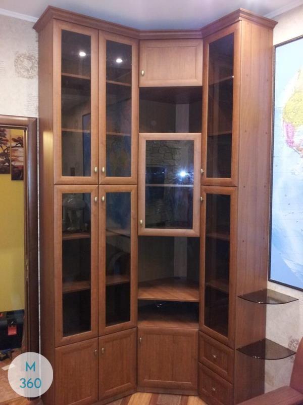Угловой книжный шкаф Колыма Арт 009007274