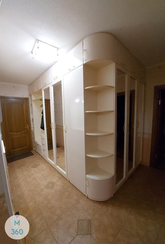 Шкаф с боковым зеркалом Астана Арт 009121192