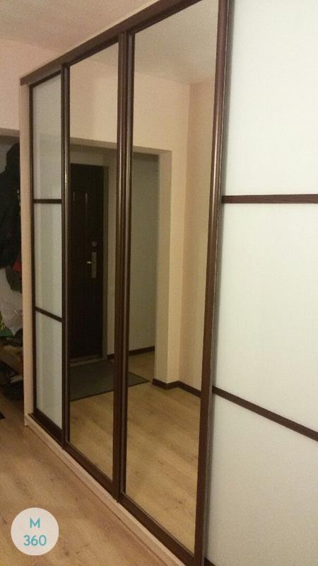 Шкаф с фацетными зеркалами Протея Арт 009161517