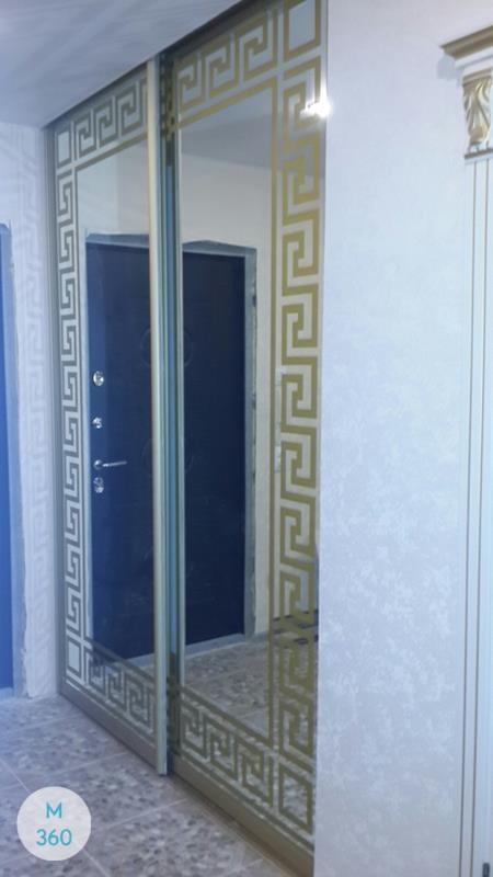 Шкаф купе с рисунком на зеркале Уэст-Палм-Бич Арт 009201295