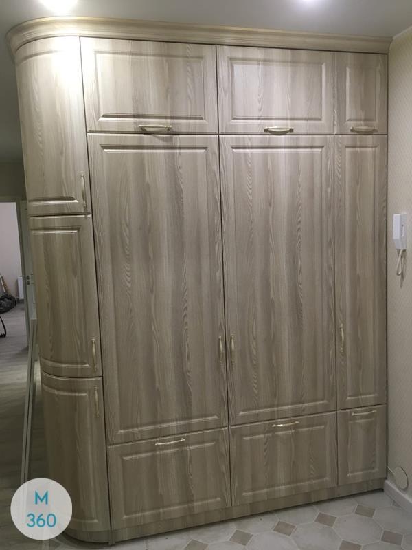 Серый распашной шкаф Владикавказ Арт 009295281