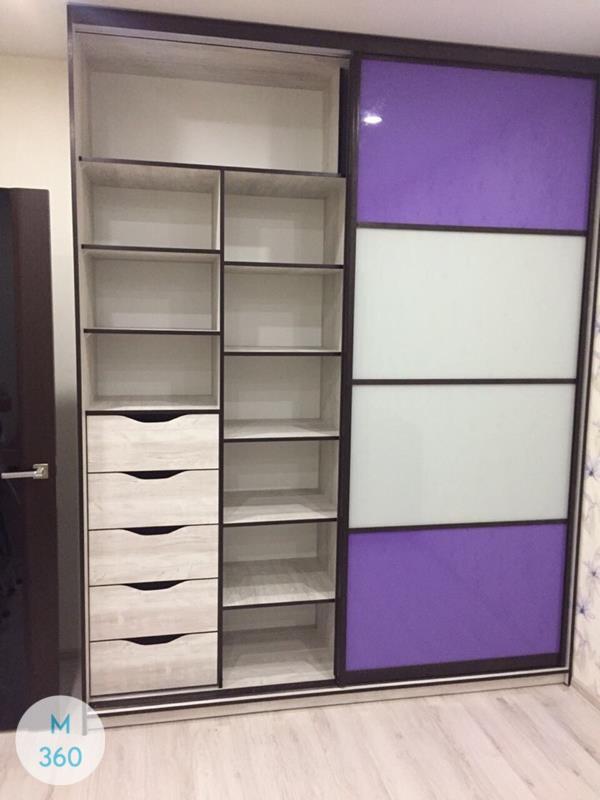 Фиолетовый шкаф купе Дельфиниум Арт 009577286