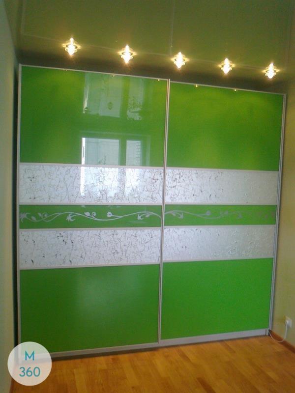 Зеленый шкаф купе Давенпорт Арт 009659303