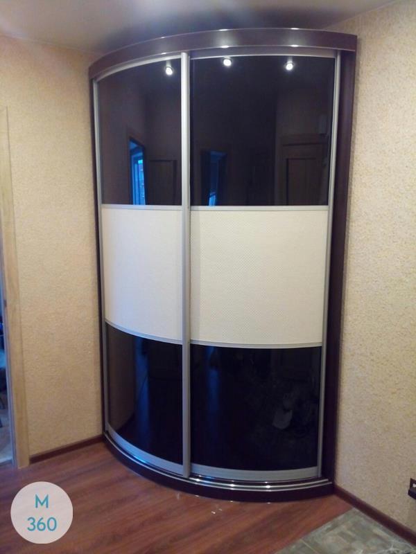 Угловой радиусный шкаф Глориоза Арт 009836880