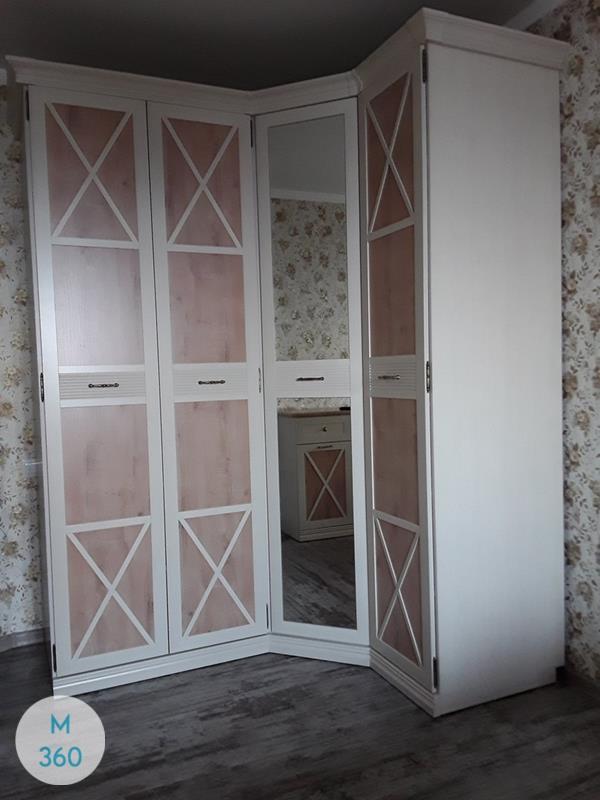 Распашной шкаф с зеркалом Берлингтон Арт 009851558